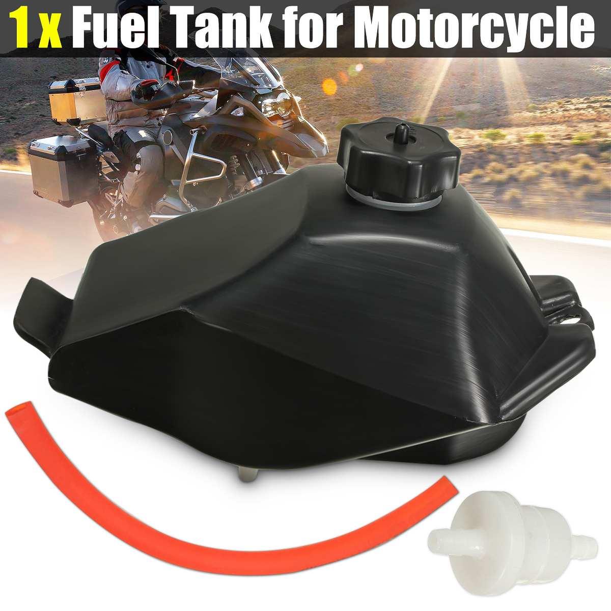 Gás Tanque de Gasolina w/Cap + Mangueira + Kit Filtro de ar Para Mini Moto ATV Quad Moto Kart