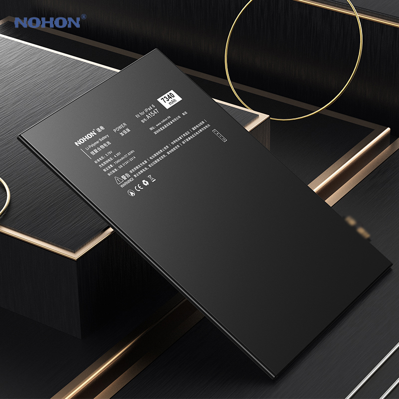 Batería Nohon para iPad 6 Air 2 A1547 7340mAh A1566 A1567 li-polymer Tablet Bateria + herramientas gratis para Apple iPad Air2 iPad6 batería - 4