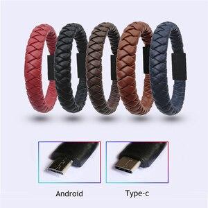 Bracelet USB Cable Type C Micr