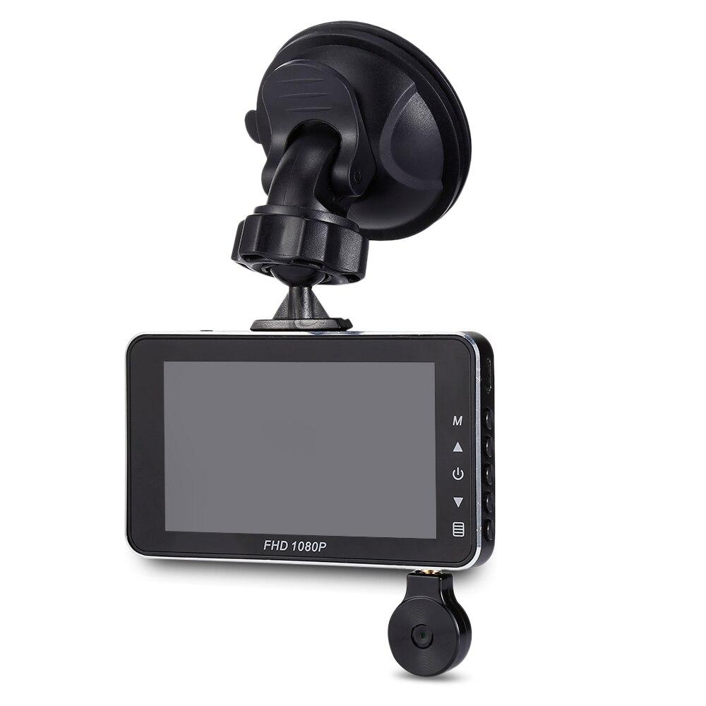 E5 3 pouces LCD écran Dash Cam 1080 P 140 degrés grand Angle g-sensor boucle enregistrement voiture DVR surveillance de stationnement enregistreur de conduite de voiture