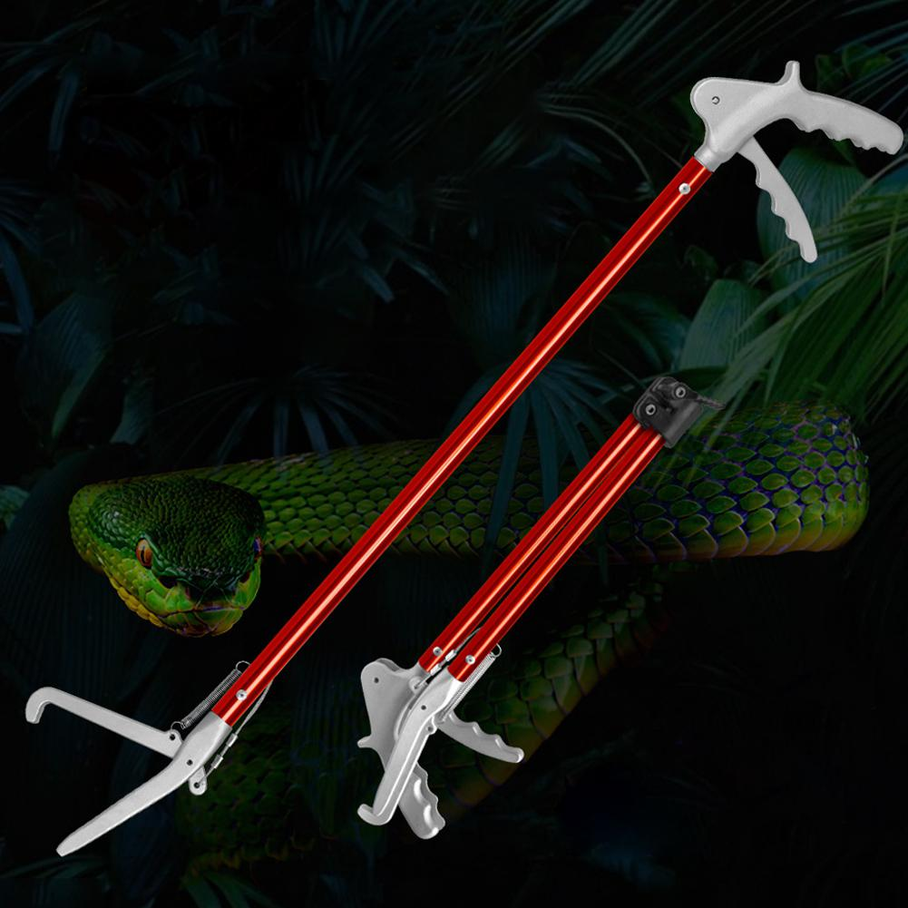 AsyPets 70CM Snake Clamp Without Lock Tong Reptile Catcher