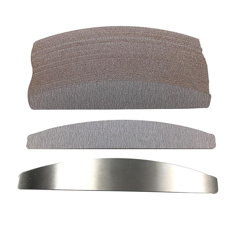 100 pcs cinza removalble almofadas com 1pc 04