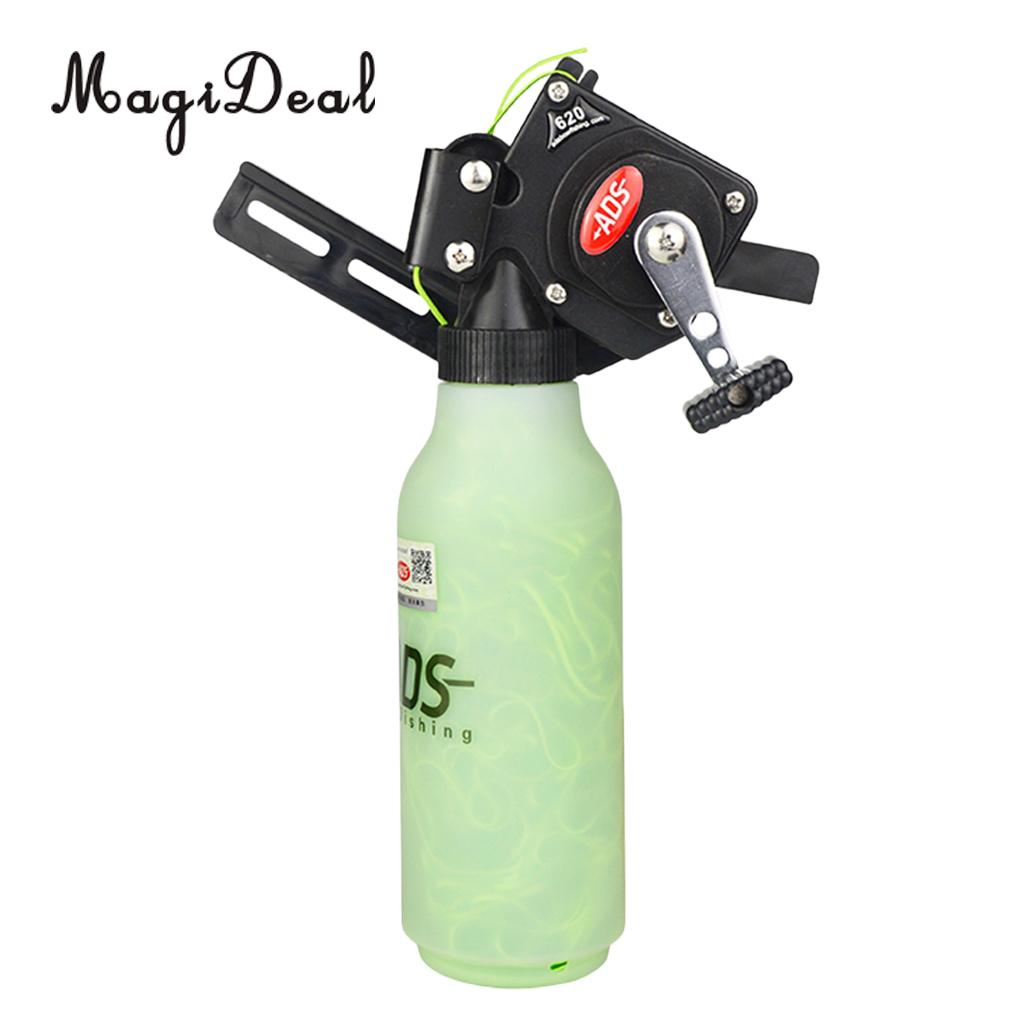 MagiDeal Archery Bowfishing Reel Retriever for Compound Recurve Bow Target Hunting