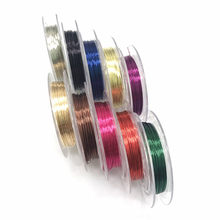 Fil de perles en laiton, 0.3/0.4mm, fabrication de bijoux, fabrication de colliers de bracelet, bijoux à bricoler soi-même, vente en gros