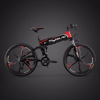 26 Inch Electric Mountain Bike Hidden 48v Lithium Battery 350w Electric Bicycle Battery Power Instead Of Walking Ebike