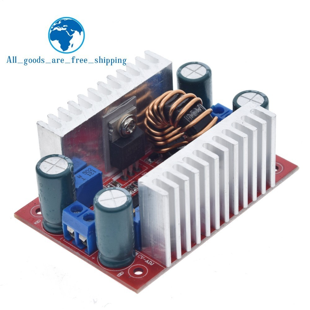 DC 400W 15A Step up Boost Converter Constant Current Power Supply LED Driver 8.5 50V to 10 60V Voltage Charger Step Up Module Integrated Circuits    - AliExpress