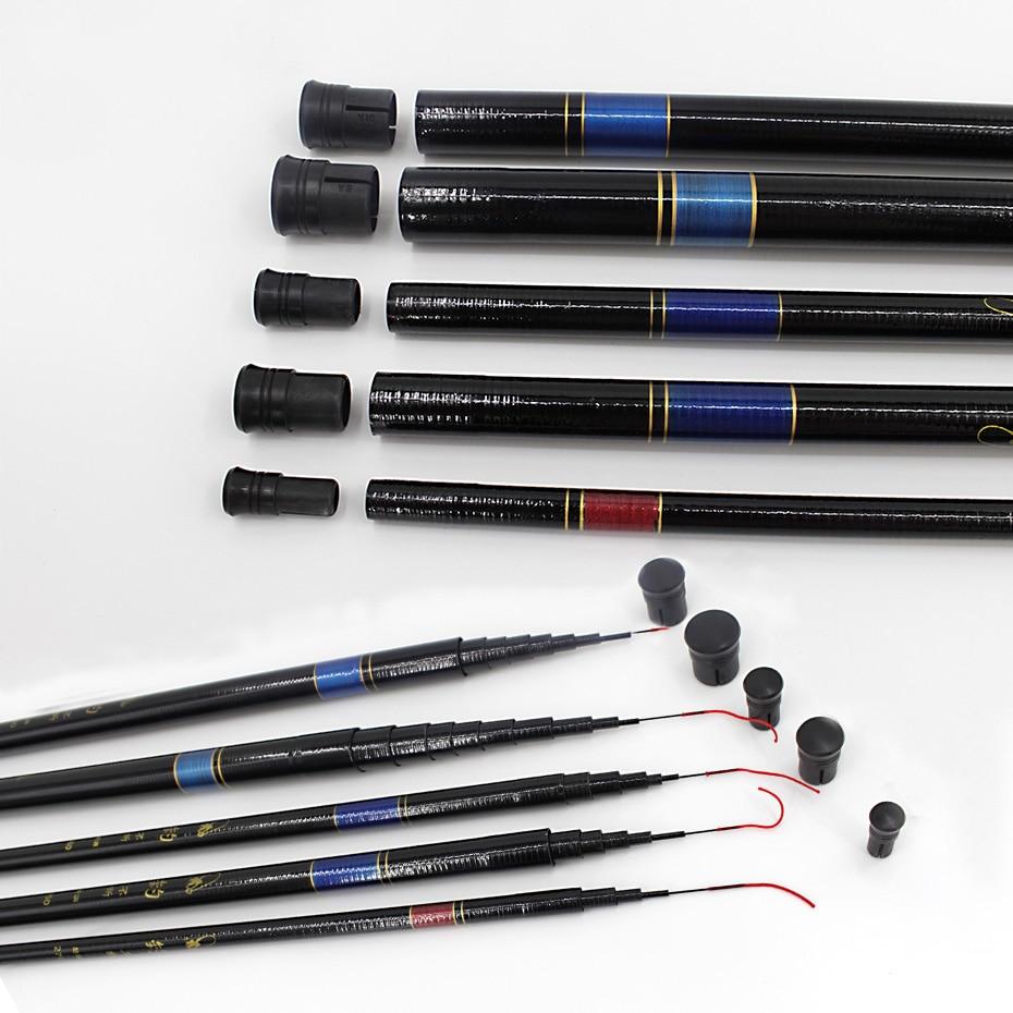 Image 5 - THEKUAI Superhard 37T Ultra light Stream Fishing Rod Power FRP Hand Pole Telescopic Fishing Rod for Carp Fishing-in Fishing Rods from Sports & Entertainment