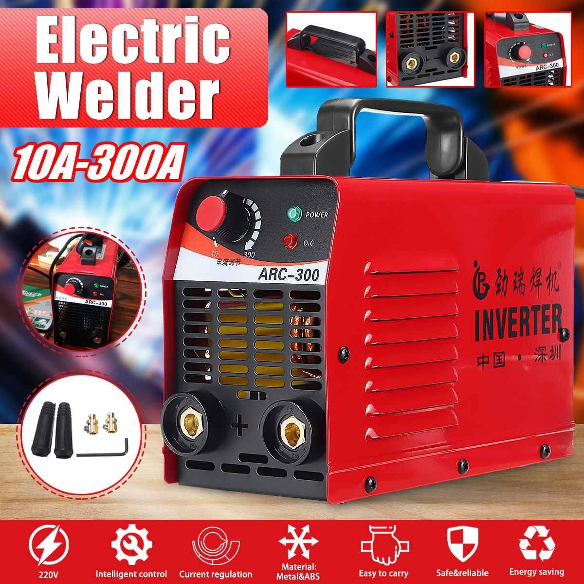 ARC-300 220V Electric IGBT Inverter Welding Machine MMA ARC ZX7 Soldering LCD 10-300A