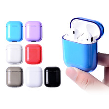 Hot Sale PC Earphone Case for  Airpods Silicone Pouch Protective Cases For Accessories wholesale