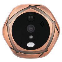 5 дюймов smart Беспроводной Wi Fi визуальный кошачий глаз дверные звонки удаленной сети мобильного телефона ПРИЛОЖЕНИЕ