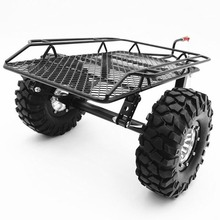 2019 New Arrival Metal Trailer & Tire 1/10 For RC Rock Crawler Remote Control Accessories