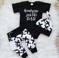 Pudcoco/комплект для мальчиков 0-24 месяцев, 3 предмета, хлопковый топ для новорожденных мальчиков, комбинезон, штаны, леггинсы, комплекты одежды