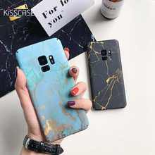KISSSCASE Hard PC Marble Phone Case For Samsung Galaxy S10 S9 PLUS Note 8 9 S7 Edge Marble CaseS For Samsung S8 S9 S7 Cover Capa все цены