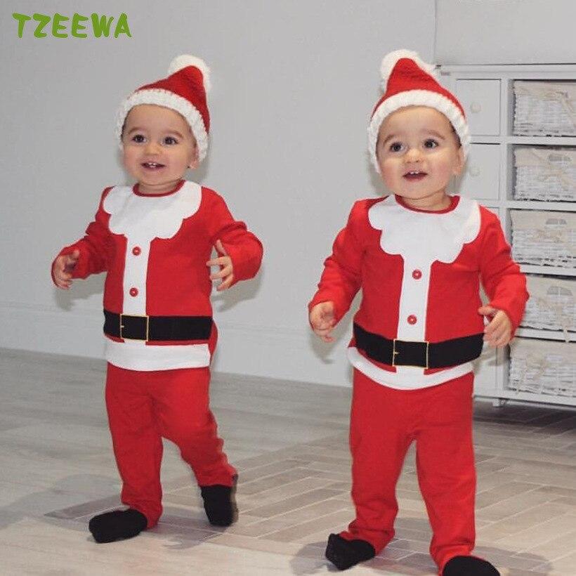 Newborn Christmas Clothes Baby Girls Boys Clothing Set My ...