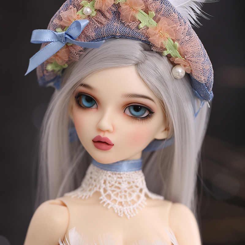 Envío Gratis, muñeca BJD MSD Minifee Chloe de Fairyland 1/4, conjunto completo de opciones, muñecas de moda, muñecas de resina, juguetes, regalo para los ojos