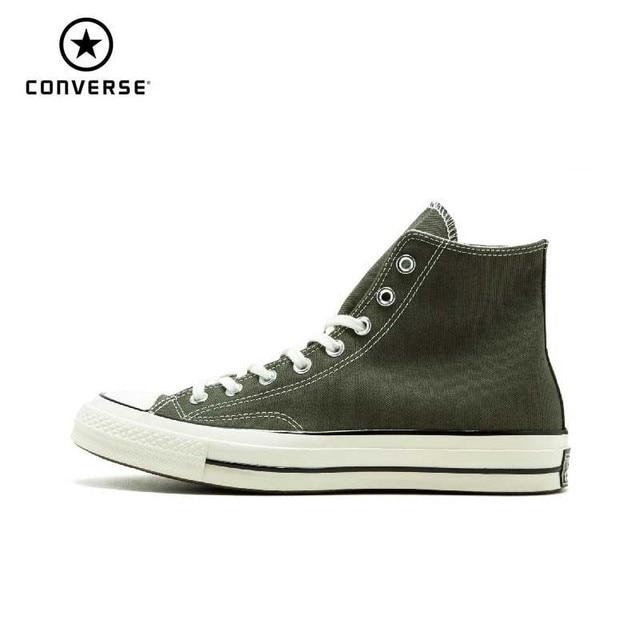 Converse New Original CTAS 70 Hi Shoes Unisex Men s Sneakers Women High  Classic Skateboarding Shoes 159771C 02a48f2b86fd
