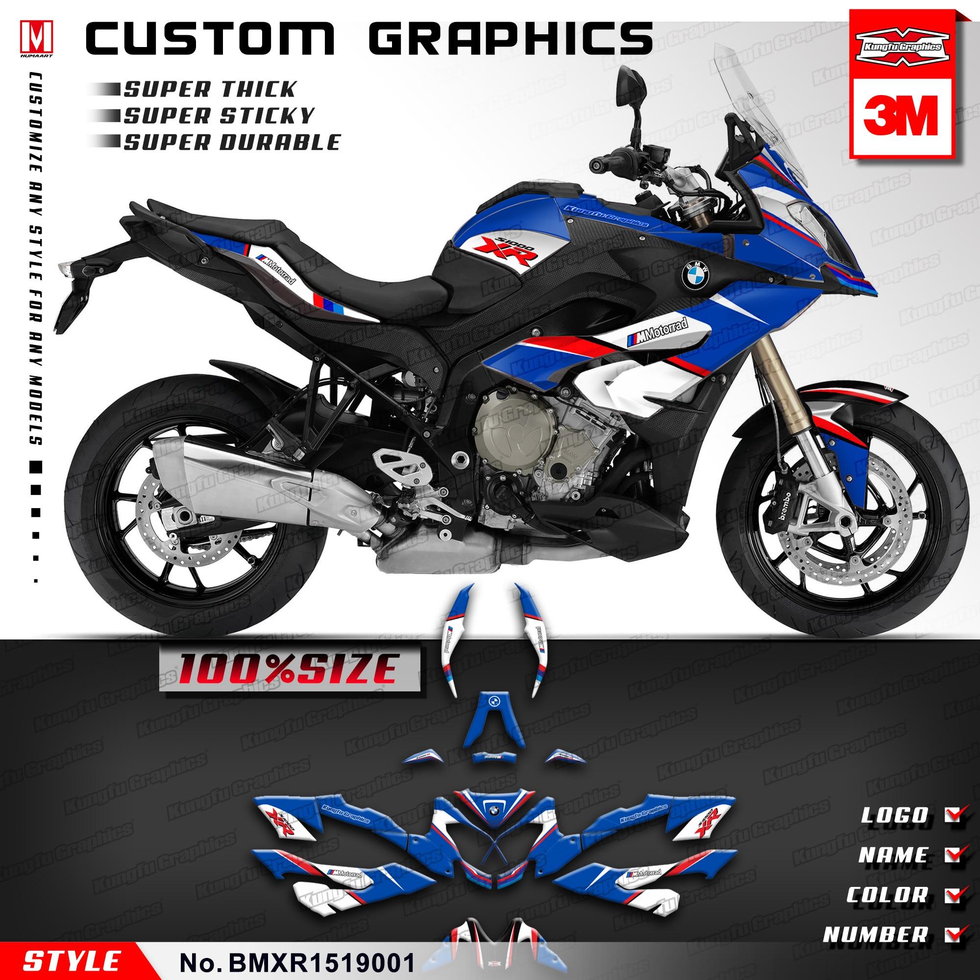 Kungfu graphics custom stickers kit vehicle wraps for bmw s
