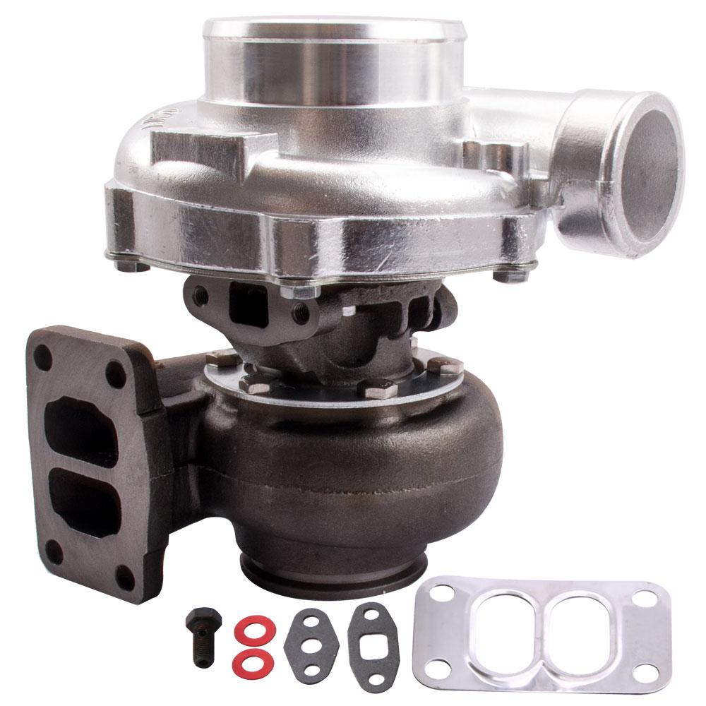 Compresseur universel T70 Turbo 57 garniture 0.7 A/R 0.82A/R Turbo chargeur refroidi à l'huile de Turbine 500HP pour tous les moteurs 1.8L-3.0L