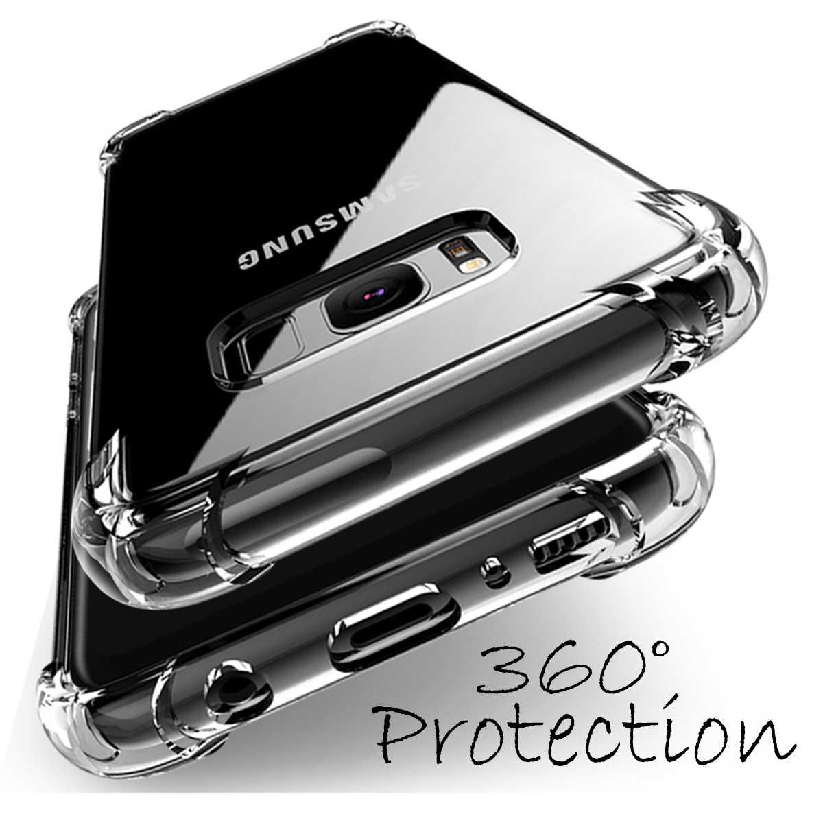 สำหรับ Samsung Galaxy J2core/J260 J4 J6 J8 A6 2018 S9 S8 S7 S6 ขอบหมายเหตุ 8 J7 J5 prime A720 A520 Clear Soft TPU ป้องกันกรณี