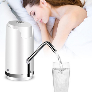 Image 5 - ワイヤレス電動ポンプウォーターポンプミネラルウォーター充電式ミニ水飲料水ボトル定量