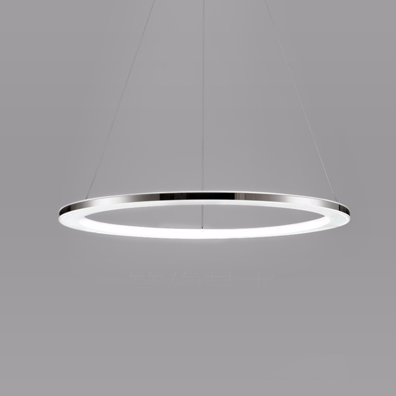 Modern LED Pendant Lights Dining Living Room Fixtures Home Decor Acrylic Rings Hanging Lamp With Remote Dimmable LightingModern LED Pendant Lights Dining Living Room Fixtures Home Decor Acrylic Rings Hanging Lamp With Remote Dimmable Lighting