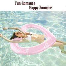 Сердце Форма надувные ездить-для детей и взрослых бассейн плоты игрушки Fun водные виды спорта пляж игрушка