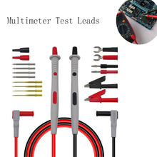 Multimeter Probes Replaceable Needles Test Leads Kits Probes for Digital Multimeter Feelers for Multimeter Wire Tips
