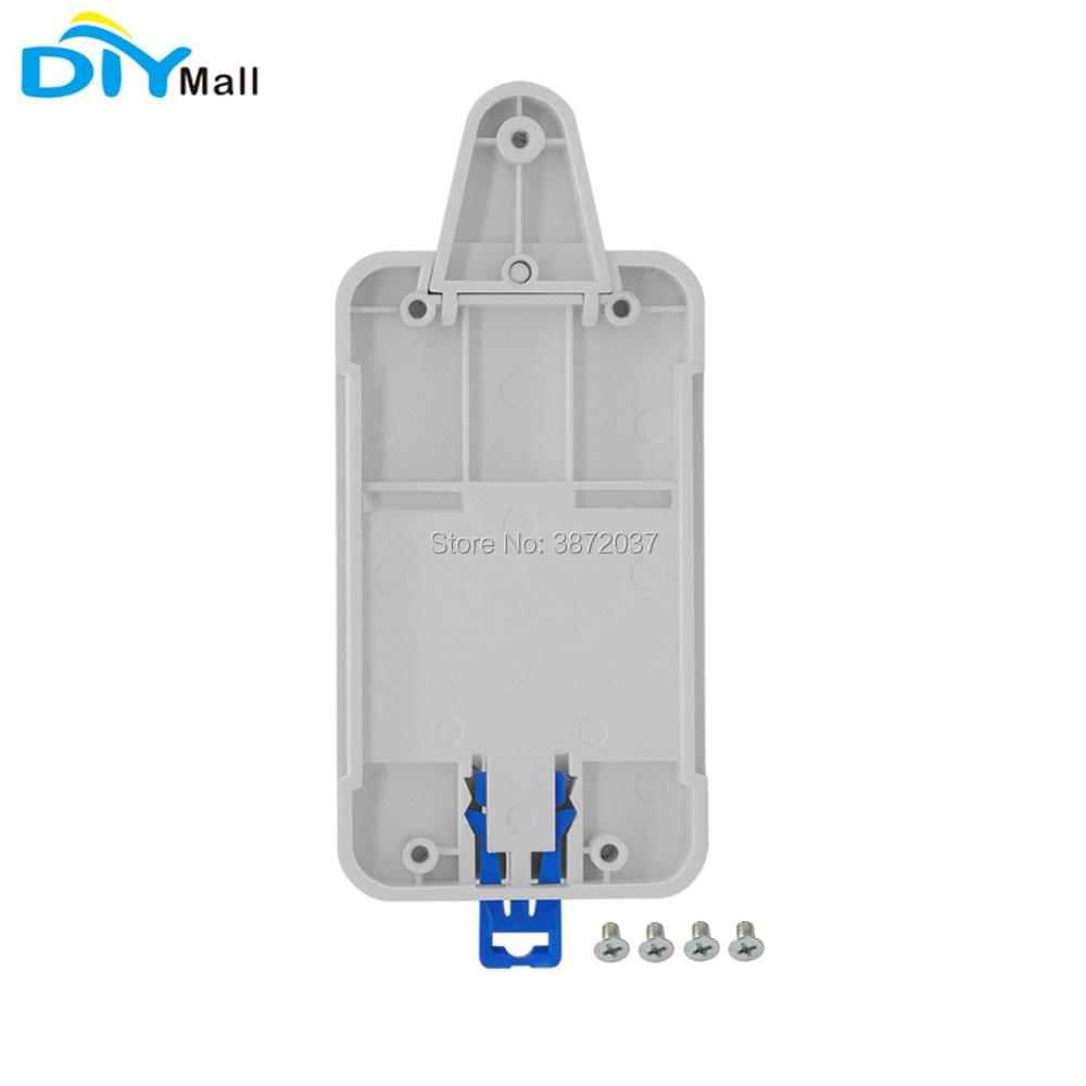 Sonoff DR Din Rail Tray Adjustable Mounted Rail Case Holder for WiFi Switch Sonoff Basic RF Pow TH10 TH16 Dual G1 G2