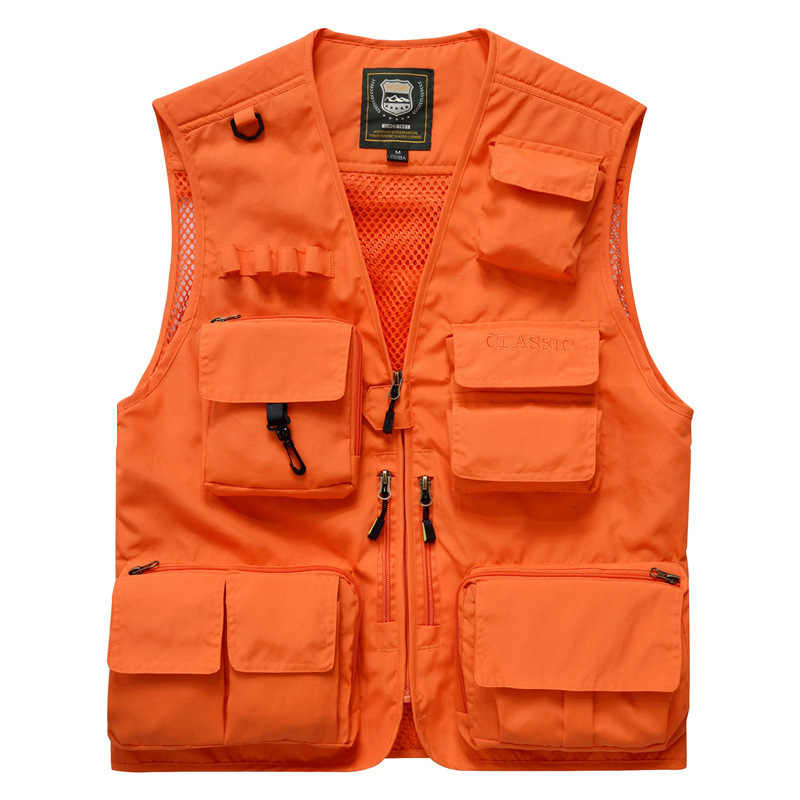 15 Pockets Men Women Outdoors Multi-Pocket Fishing Camping Hunting Trekking Hiking Photography Detachable Tactical Male Vest