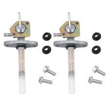 2x топливный бак Petcock клапан газовый бак запорный переключатель клапан для Honda мотоциклов TRX350 CRF150 XR100