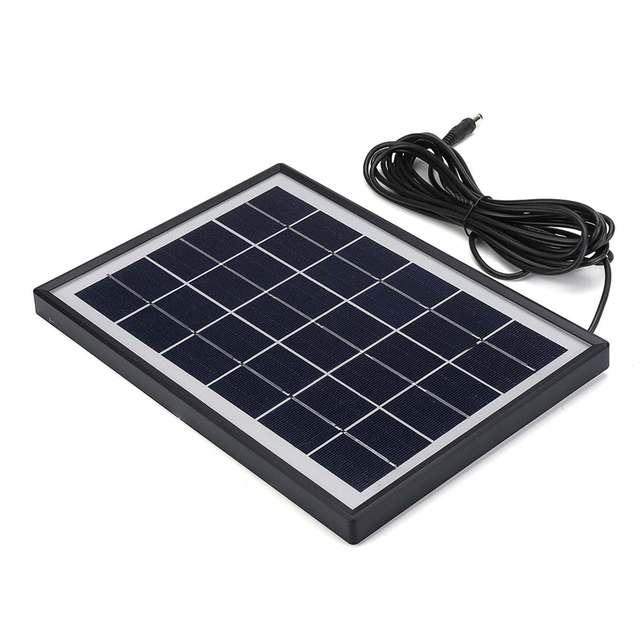 Portable Solar Panel Power Generator LED Lighting System Kit MP3 Flashlight USB Charger 3 LED Bulbs Outdoor Emergency Power 5