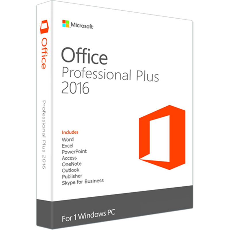 Image 2 - Microsoft Office 2016 Professional Plus for Windows PC Retail Boxed Product Key Card inside with DVD