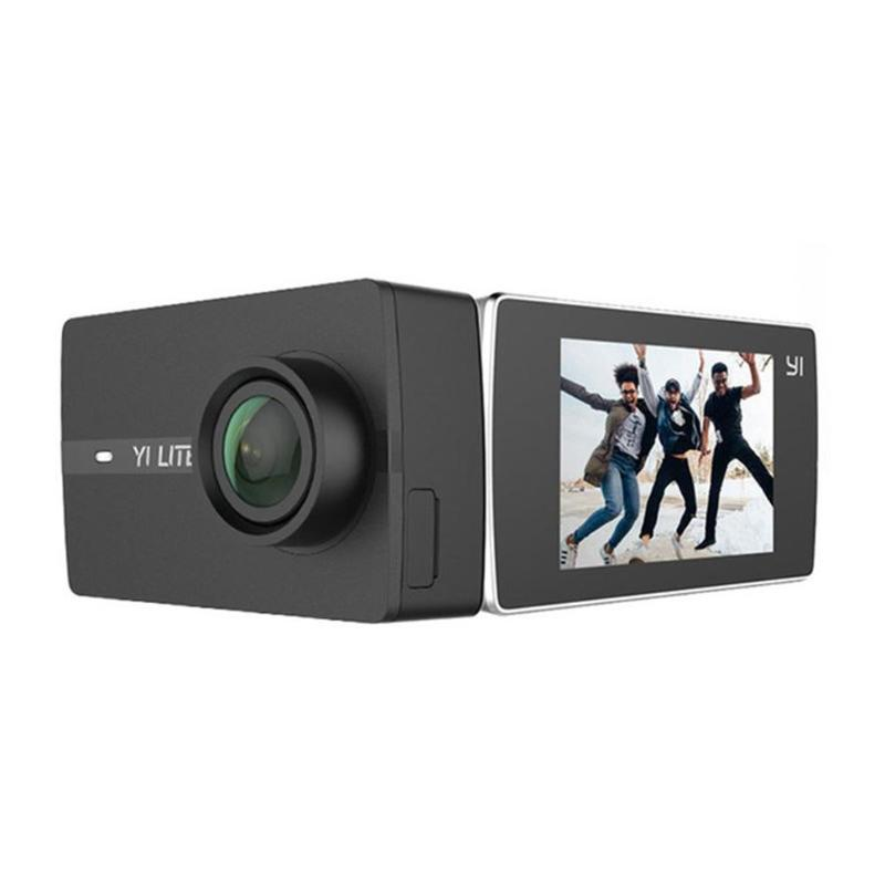 Xiaomi Yi Lite Экшн камера 16MP 4 K 2 сенсорный экран 150 широкоугольный объектив 2,4 г 5 г WiFi Bluetooth EIS Спортивная камера видео рекордер Yi