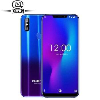 Купить OUKITEL U23 6.18 4G Smartphone Android 8.1 Octa Core mobile phone 6GB+64GB Wireless Charge fingerprint Face ID cell phones на Алиэкспресс