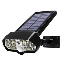 Modern Waterproof  Led Solar Light Shark Pir Motion Sensor Solar Lamp Solar Powered Spotlight For Outdoor Garden Wall Lamp