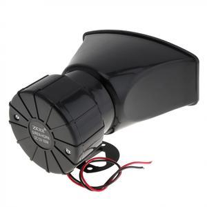 Image 5 - 12V 7 Sound Töne Laut Auto Warnung Alarm Polizei Feuer Sirene Horn 100W Auto Lautsprecher mit Schwarz Wireless fernbedienung