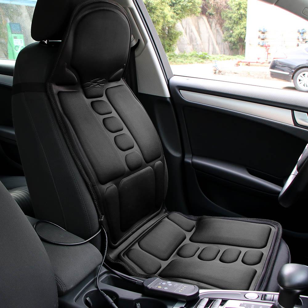 United Car Seat Vibrator Back Neck Massagem Cushion Heat Pad Electric Massager Chair Massage For Legs Waist Body Massageador Exquisite Workmanship In