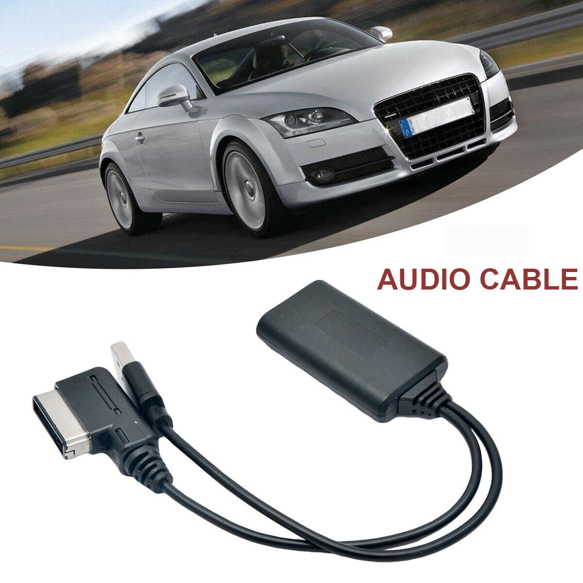 Vehicle Parts & Accessories bluetooth USB AUX Adapter Cable For AUDI