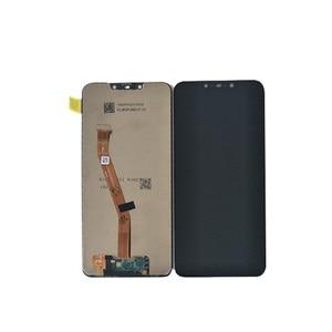 "Image 2 - 6.3 ""מקורי מסגרת M & סן עבור Huawei Mate 20 לייט LCD מסך תצוגה + מגע Digitizer לוח עבור huawei Mate 20 לייט עצרת Lcd"