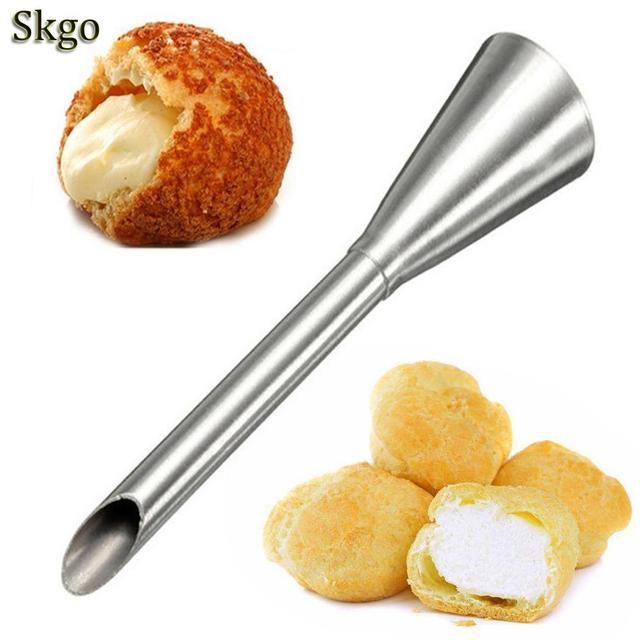 Cake etc Kitchen Bakery Decoration Silver Shop Cream House Home Baking Steel Polishing Nozzle Stainless Puffs Pastry 1