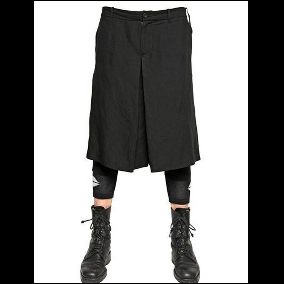 Comfortable Pants Hip-Hop Plus-Size Fashion Pantskirts/27-44 New Stage Men Personality
