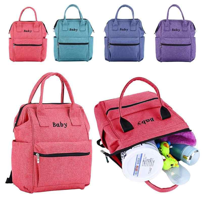 Mummy Maternity Nappy Bag Outdoor Travel Backpack Baby Nursing Multifunction Shoulder Bags Baby Care Diaper Bag Women Handbag