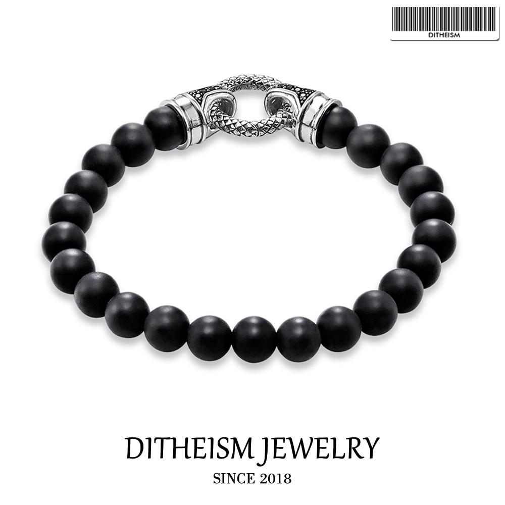 Cuff Bracelets With Black...