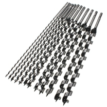 цена на 460Mm Long 6-28Mm Drill Bits Wood Carpenter Masonry Hobby Wood Drills Set For Woodworking