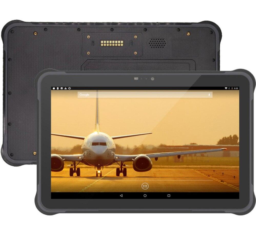 UNIWA T11 IP67 Téléphone Mobile Étanche Et Robuste Tablette Android 7.0 RJ45 Port batterie remplaçable à Chaud 10.1 pouce NFC Extérieure tablet PC