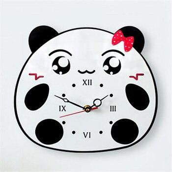 Panda Regalos Acrílico Navidad Rana De Animados Niños Pared Dibujos Creativo Decoración Reloj Dormitorio Hogar Silencio sQhxdCtr
