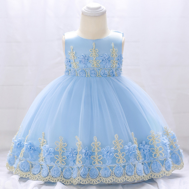Baby Girl Dress 3 Months To 2 Years Old Birthday Party Princess Vestidos First Christmas Dresses