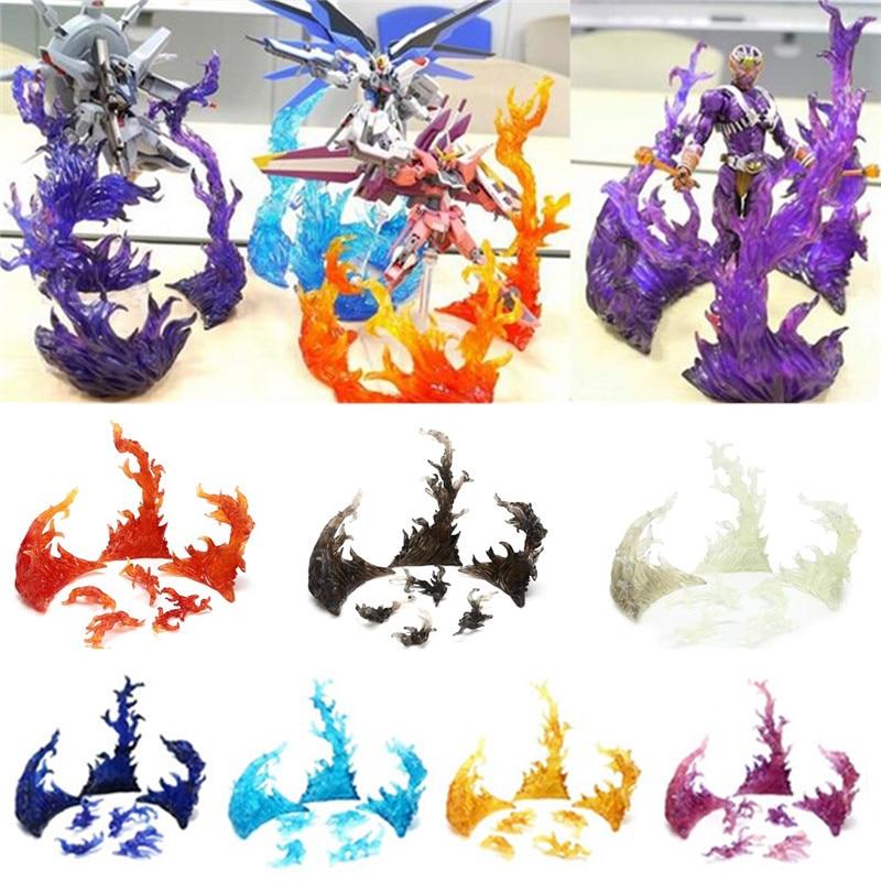 Multi Color Tamashii Star Soul Effect Burning Flame Fix Tamashii EFFECT Impact BURNING FLAME Toys Action