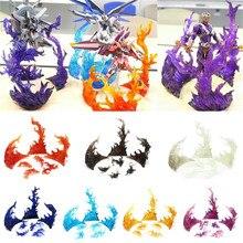 Multi cor tamashii estrela soul efeito queima de chama, fixação, tamashii, efeito, queima de impacto, chama, brinquedos, figura de ação, bandai