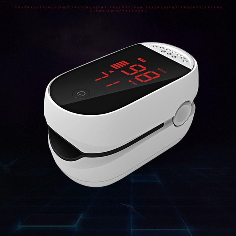 2019 Nova LED Multifuncional PI Alarme Oxímetro de Pulso Medidor de Freqüência Cardíaca Monitor de Saturação de Oxigênio No Sangue Oxímetro de pulso Oxímetro de pulso